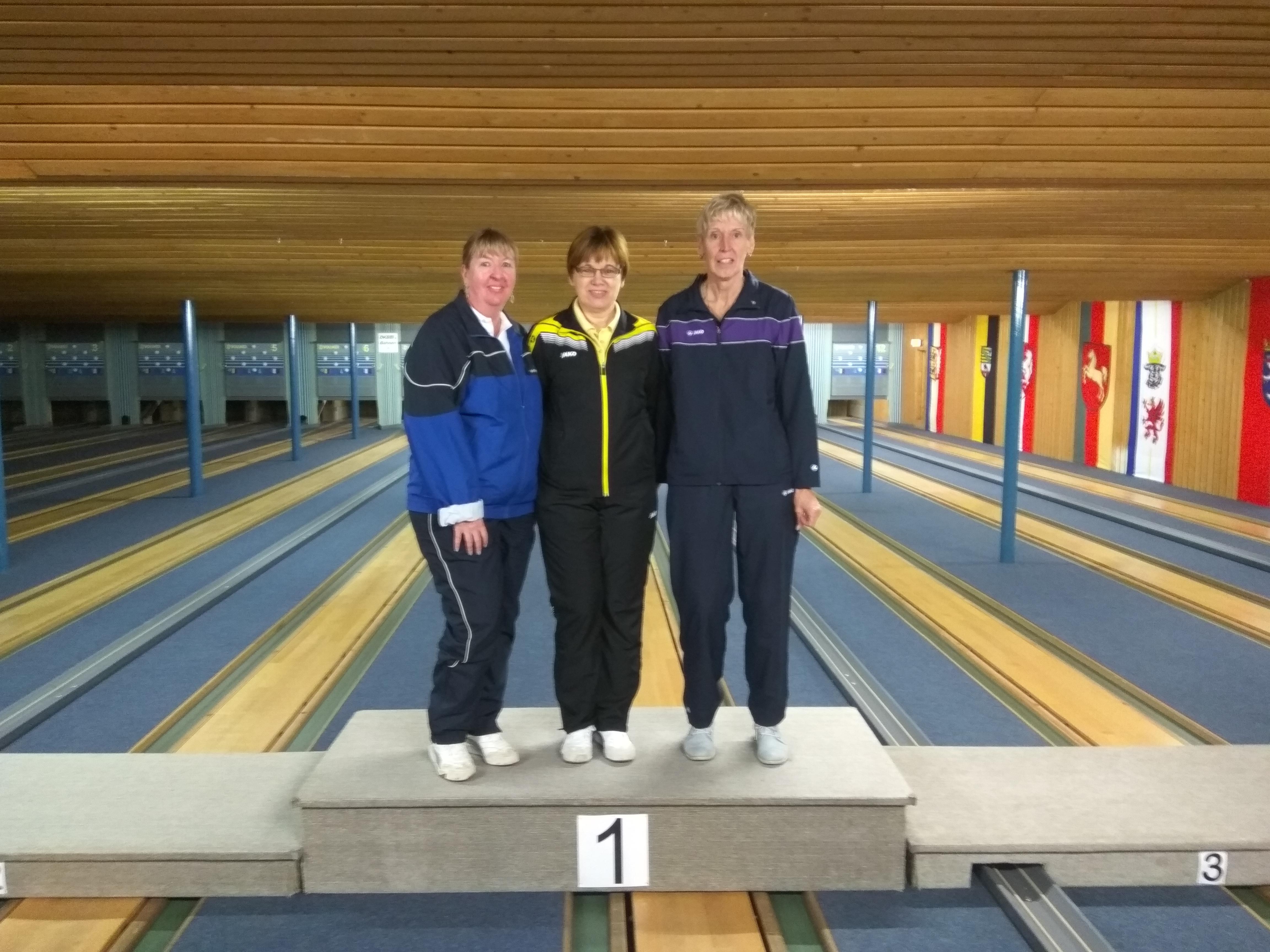 1. Karin Hilgemeier; 2. Andrea Feindt; 3. Birgit Lisser