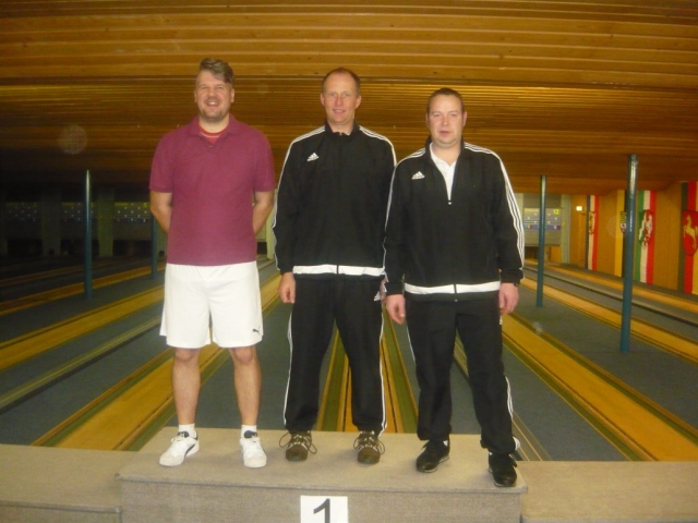1. Cord Brinkmann; 2. Stefan Grenz; 3. Jens Kläner