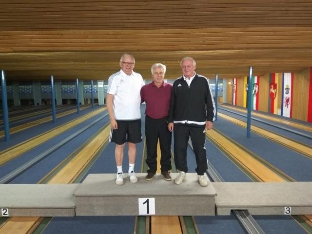 1. Rolf-Dieter Rimasch; 2. Heino Hoffmann; 3. Jürgen Hoffmann